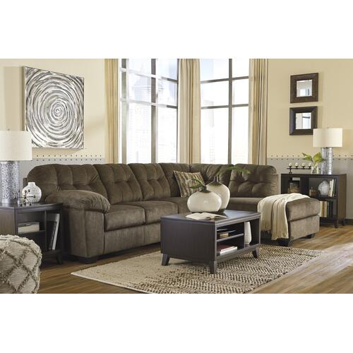 Accrington Brown Sectional Right