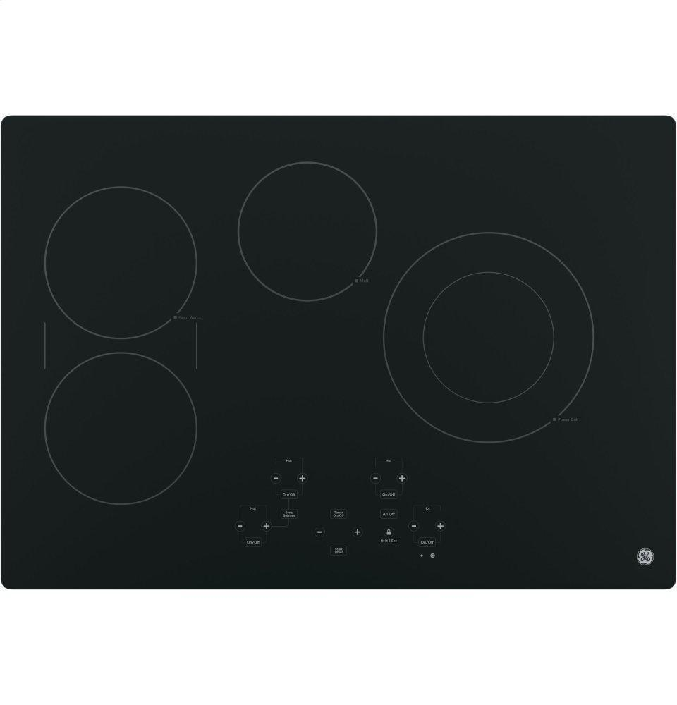 """GE®30"""" Built-In Touch Control Electric Cooktop"""