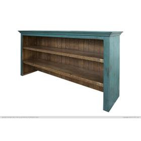 See Details - Hutch for Console, Green finish