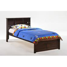Butterscotch Bed in Dark Chocolate Finish