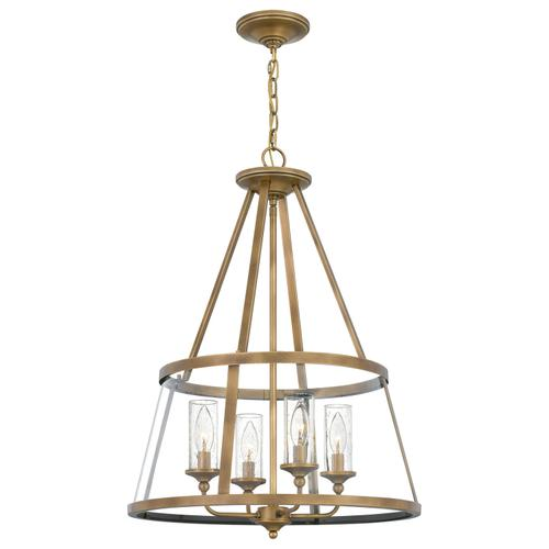 Quoizel - Barlow Pendant in Weathered Brass