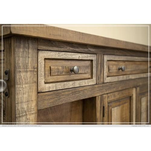3 Drawer & 4 Doors, Kitchen Island
