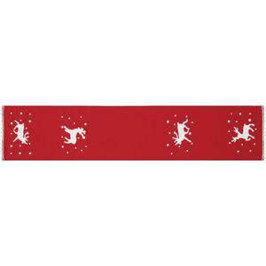 """Home for the Holiday L7039 Red 14"""" X 72"""" Runner"""