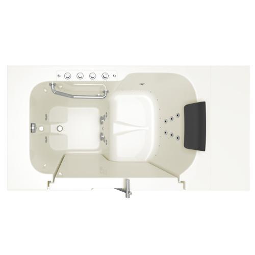 American Standard - Premium Series 32x52-inch Combo Massage Walk-In Tub  Outswing Door  American Standard - Linen