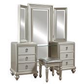 Diva Vanity Dresser with Stool