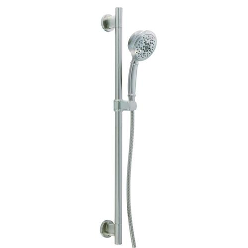 """Chrome Versa 30"""" Slide Bar Assembly with Surge® 5-Function Handshower, 2.0gpm"""