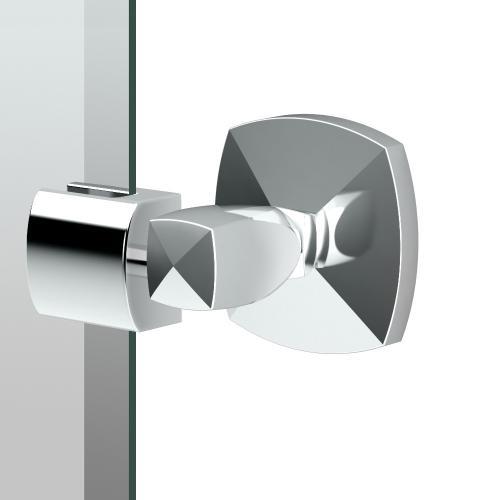 Jewel Oval Mirror in Chrome
