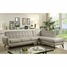 ACME Essick II Sectional Sofa - 53045 - Gray PU