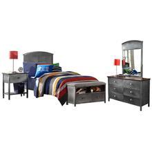 See Details - Panel Bed Set
