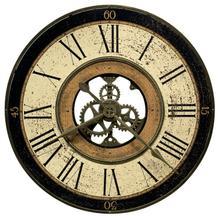 Howard Miller Brass Works Wall Clock 625542