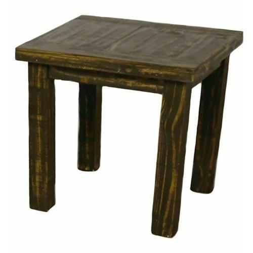 Million Dollar Rustic - Reclaim End Table