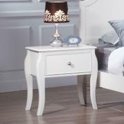 Dominique French Country White Nightstand Product Image