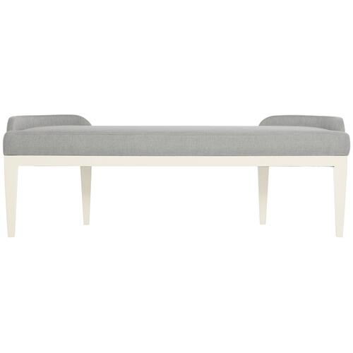Calista Bench in Silken Pearl (388)