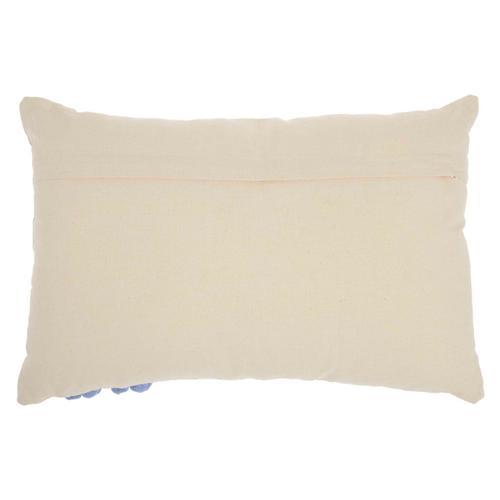 "Life Styles Rc223 Navy 16"" X 24"" Throw Pillow"