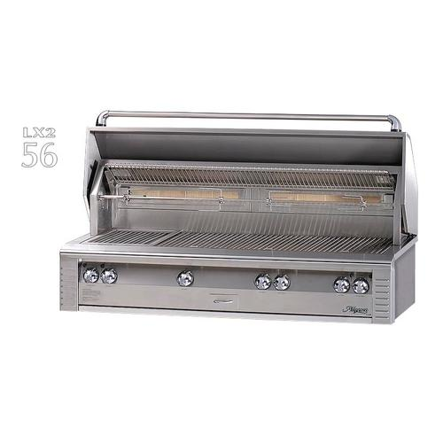 """Alfresco - 56"""" Jumbo built-in grill"""