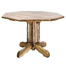 Glacier Country Collection Center Pedestal Table