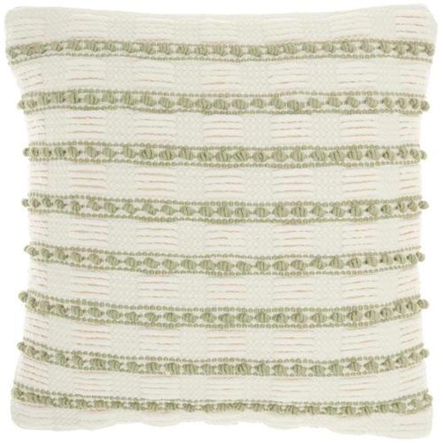 "Life Styles Gc384 Sage 18"" X 18"" Throw Pillow"