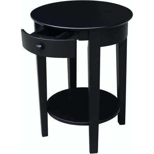 John Thomas Furniture - Phillips Table in Solid Black
