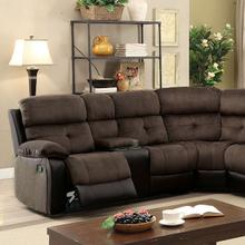 Hadley II Sectional w/ 2 Consoles