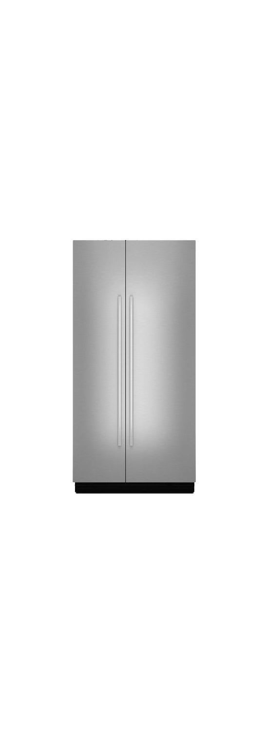 """Euro-Style 42"""" Fully Integrated Built-In Side-by-Side Panel-Kit Stainless Steel"""