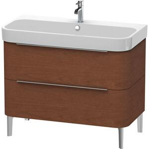 Vanity Unit Floorstanding, American Walnut (real Wood Veneer)