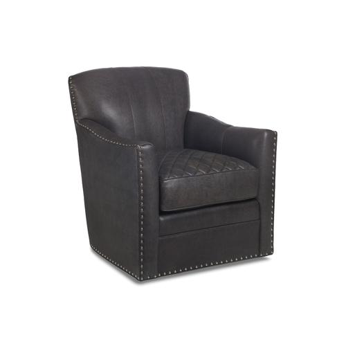 6195-S-Q PARKER QUILTED SWIVEL CHAIR