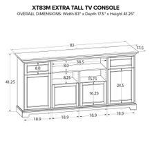 XT83M Extra Tall Custom TV Console