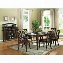ACME Keenan Dining Table - 60255 - Dark Walnut