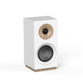 S 801 Bookshelf Speaker - White
