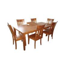 See Details - Solid Hardwood Dining Set