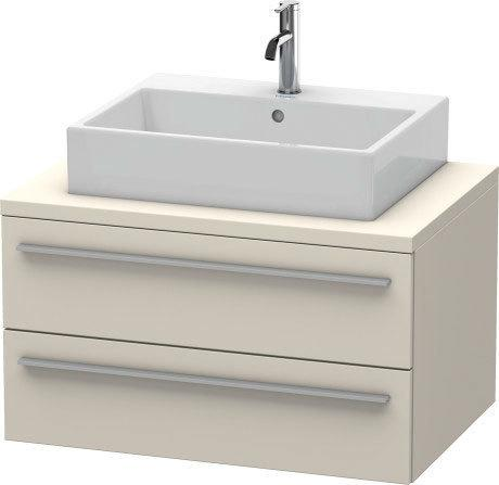 Vanity Unit For Console, Taupe Matte (decor)