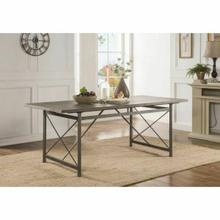 ACME Kaelyn II Dining Table - 60120 - Gray Oak & Sandy Gray