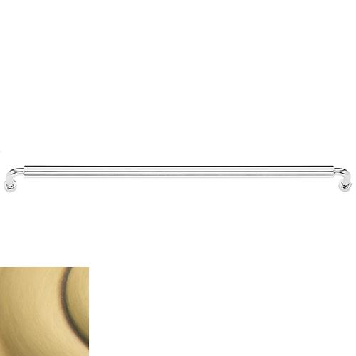 Satin Brass and Brown Hollywood Hills Appliance Pull