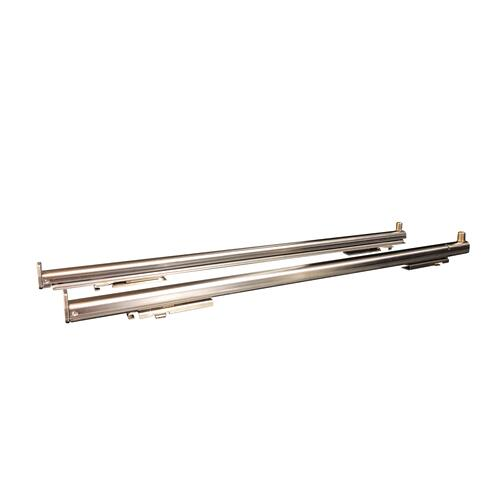 "Telescopic glide set for 24"" ranges and 30"" wall ovens Stainless Steel"