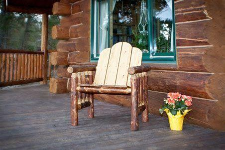 Glacier Country Collection Deck Chair
