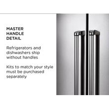 "Handle kit for 36"" French Door refrigerator - Master Series - Built-in Cooking Style"