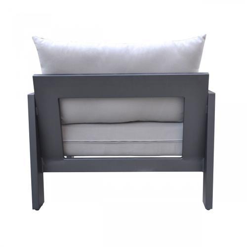 VIG Furniture - Renava Wake - Modern Charcoal Outdoor Lounge Chair