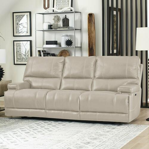 Parker House - WHITMAN - VERONA LINEN - Powered By FreeMotion Power Cordless Sofa