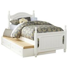 View Product - Full Platform Bed with Twin Trundle