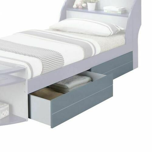 ACME Neptune II 2Pc Drawers - Optional - 30624 - Gray