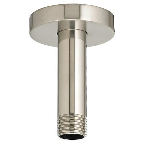 3 Inch Ceiling Mount Shower Arm - Brushed Nickel