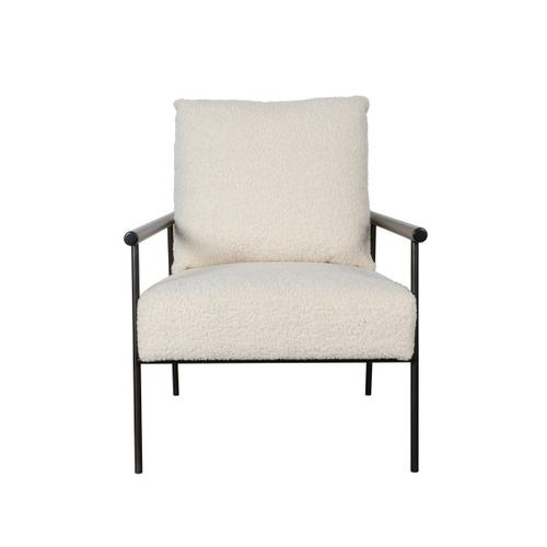 Classic Home - Cohen Accent Chair Soft White