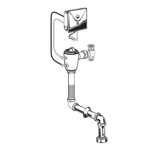 American Standard - Concealed Selectronic Top Spud Toilet Flush Valve - 1.6 gpf - No Finish