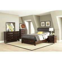 Jaxson Transitional Cappuccino California King Four-piece Set