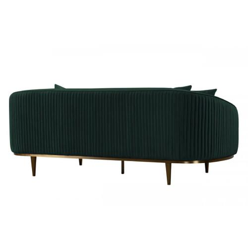VIG Furniture - Divani Casa Manitou - Green Velvet Sofa