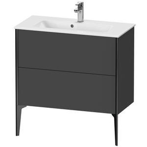 Duravit - Vanity Unit Floorstanding Compact, Graphite Matte (decor)