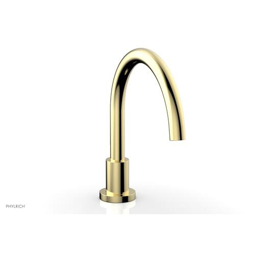 BASIC Deck Tub Spout D5130 - Polished Brass