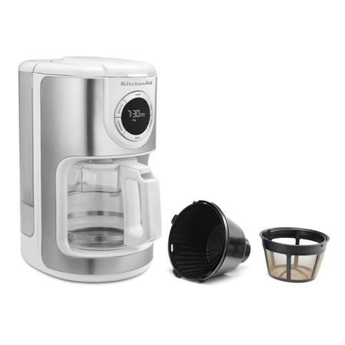 12 Cup Coffee Maker White