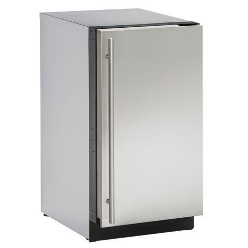 """Product Image - 3018clr 18"""" Clear Ice Machine With Stainless Solid Finish, No (115 V/60 Hz Volts /60 Hz Hz)"""