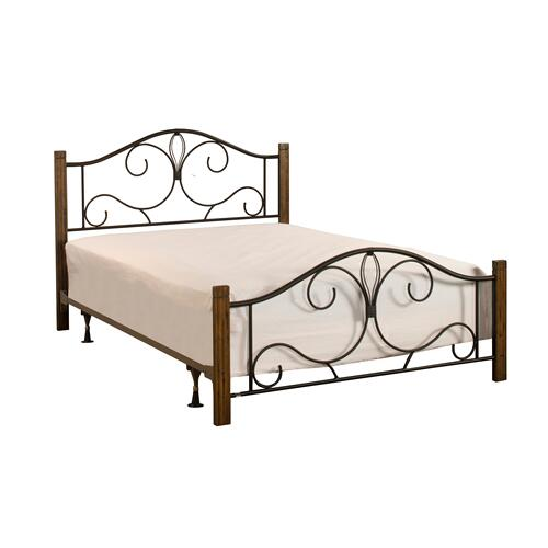 Hillsdale Furniture - Destin Twin Bed With Frame - Brushed Oak